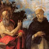 Francesco Pinna, Santi Girolamo e Tommaso