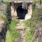 Alghero, Area della necropoli di Santu Pedru