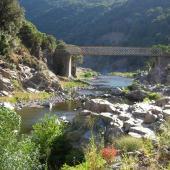 Ponte 'e Ferru tra Gadoni e Seulo, Gadoni