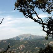 Iglesias, Panorama del Monte Marganai