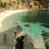 Baunei, uno scorcio azzurro di Cala Biriola