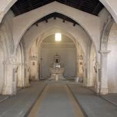 Assemini, interno della chiesa di San Pietro
