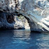 Cala Goloritzé, calcare bianco sul mare