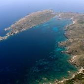 Isola di Santa Maria, le trasparenze del mare di Cala Muro