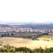Panoramica del paese di Soleminis