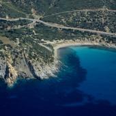 L'azzurro intenso del mare di Sardegna
