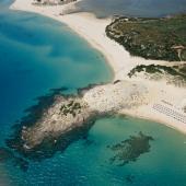 Chia, spiaggia Campana