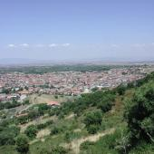 Gonnosfanadiga, panoramica del paese