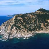Capo Boi, l'aspro promontorio