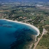 La spiaggia dei Fichi a Pula