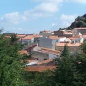 Panoramica del paese di Montresta