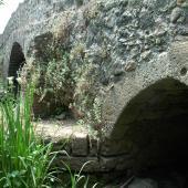 Tramatza, il ponte sul fiume Cispiri