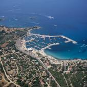 Villasimius, la spiaggia del porto
