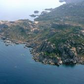 Budelli, una panoramica dell'isola