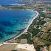 Calasetta, il lungo arenile di Spiaggia Grande