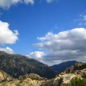 Villacidro, le dolci cime del Monte Linas