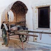Isili, Museo per l'Arte del Rame e del Tessuto: carro del ramaio