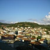 Nurallao, panoramica del paese