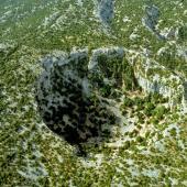La dolina di Su Suercone