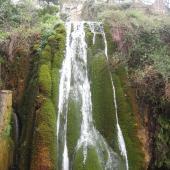 Sadali, cascata di San Valentino
