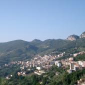 Jerzu, panoramica del paese