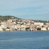 La Maddalena, la città vista dal mare