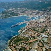Palau, veduta aerea del paese