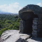 Telti, roccia in località San Bachisio