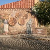 Tinnura, murale