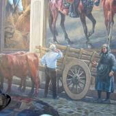 Cossoine,  un murales del centro