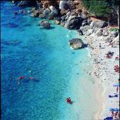 Dorgali, spiaggia di Cala Fuili