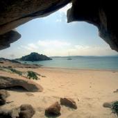 Isola di Spargi, Cala Corsara