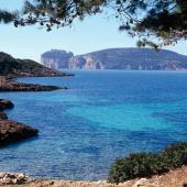Alghero, baia e promontorio di Capo Caccia