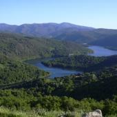 Panoramica del Lago di Gusana