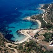 Veduta aerea di Cala Moresca