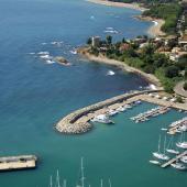 Baunei, veduta della spiaggia di Santa Maria Navarrese