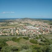 Tortolì, vista panoramica del centro abitato