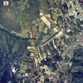 Veduta aerea di San Giovanni Suergiu