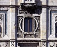 Dettaglio della facciata